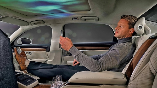 Volvo S90 Ambience – Luxury Sedan Concept