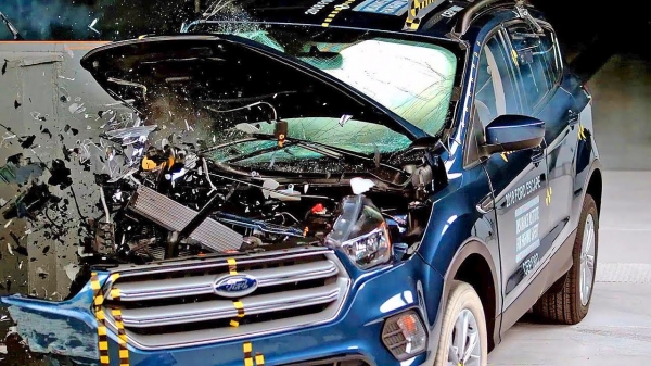 Ford Escape (2018) Bad Result to Crash Test