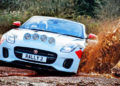 OFF-ROAD DEMO with the JAGUAR F-TYPE Convertible