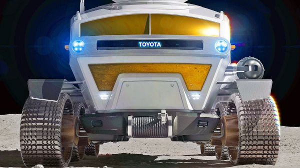 Toyota Moon Car – Pressurized Rover for Space Exploration