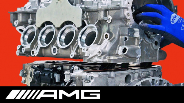 Mercedes-AMG Engine Manufacturing – One Man, One Engine