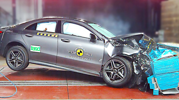 2020 Mercedes-Benz CLA – German Quality – Crash Test