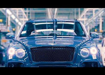 Bentley factory 2020 – Bentayga Speed production line – Luxury SUV factory