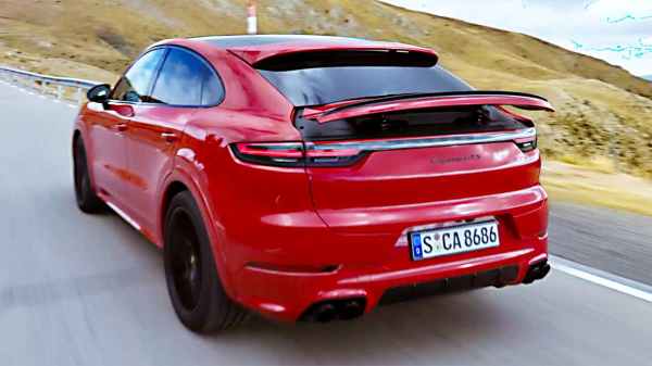 2021 Porsche Cayenne GTS Coupe – High-Performance SUV
