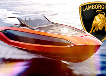 2021 Lamborghini Yacht inspired by the Lamborghini Sián – 'Tecnomar for Lamborghini 63'