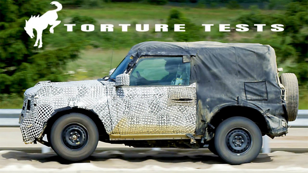 New Ford Bronco 2021 2-Door – Torture Tests