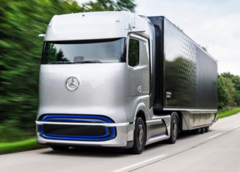 2025 Mercedes-Benz GenH2 Fuel-Cell Truck – Presentation | Full Details