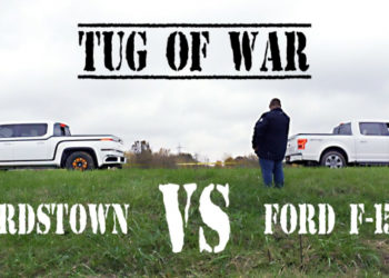 TUG OF WAR – Ford F150 vs. Lordstown Electric Pickup Truck