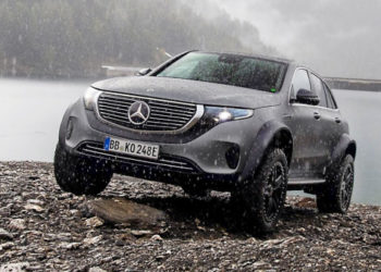 Mercedes EQC 4x4² (2020) Off-Road Electric SUV Concept