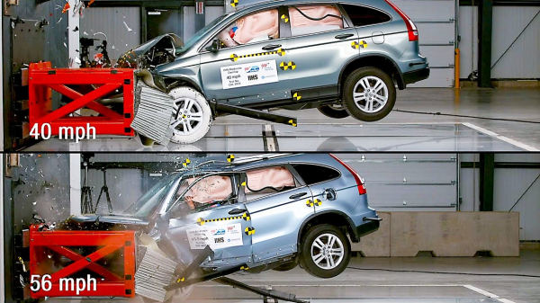 Crash Test Comparison: 40 mph vs. 56 mph | How Speed Affects the Severity of Crashes