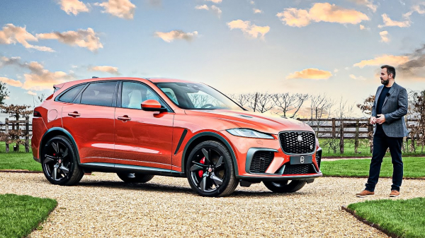 Jaguar F-PACE SVR (2021) Luxury Sports SUV | Full Details