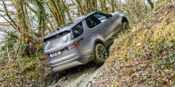 Land Rover Discovery (2021) Mud Test