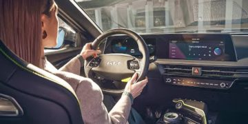 2022 Kia EV6 Onboard Experience | High-Tech Interior