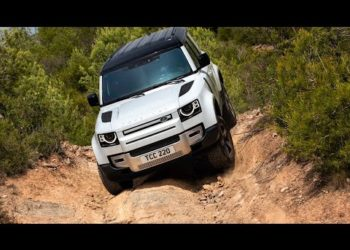 2022 Land Rover Defender 110 S Plug in Hybrid P400e Off Road Test Drive