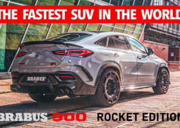 The Fastest SUV in the World  | Mercedes-AMG GLE Brabus 900 Rocket Edition | Official Video